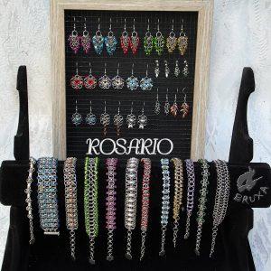Zbiorcze zdjęcie biżuterii z kolekcji Rosario